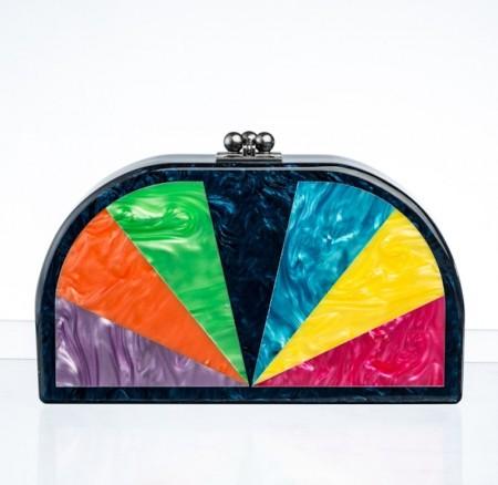 EDIE PARKER rainbow clutch FashionDailyMag sel 5