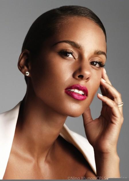 Alicia Keys givenchy parfums FashionDailyMag