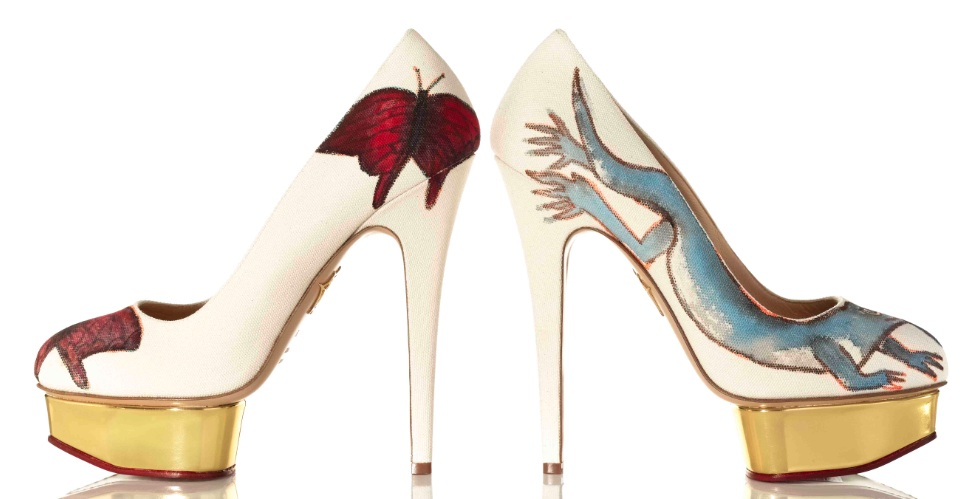 Stepping Up For Art CHARLOTTE OLYMPIA fashiondailymag feature