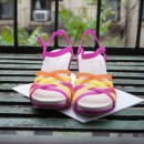 COMFY crocs wedges bright for the summer