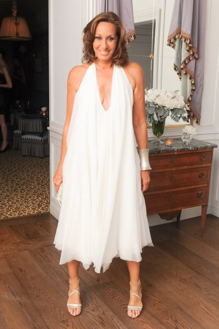 donna karan at dior celebration for cfda awards