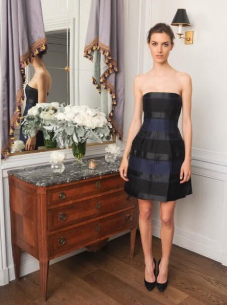 Ronja Furrer in Dior at cfda 2014 awards FashionDailyMag