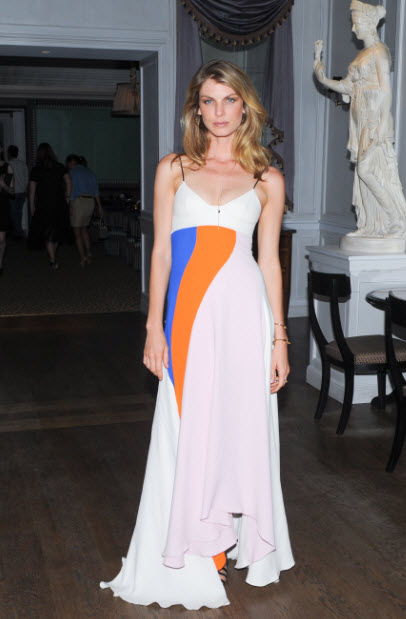 angela lindvall in dior at 2014 CFDA awards | FashionDailyMag