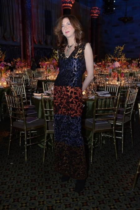 brigitte segura in nicole miller at FIT gala 2014