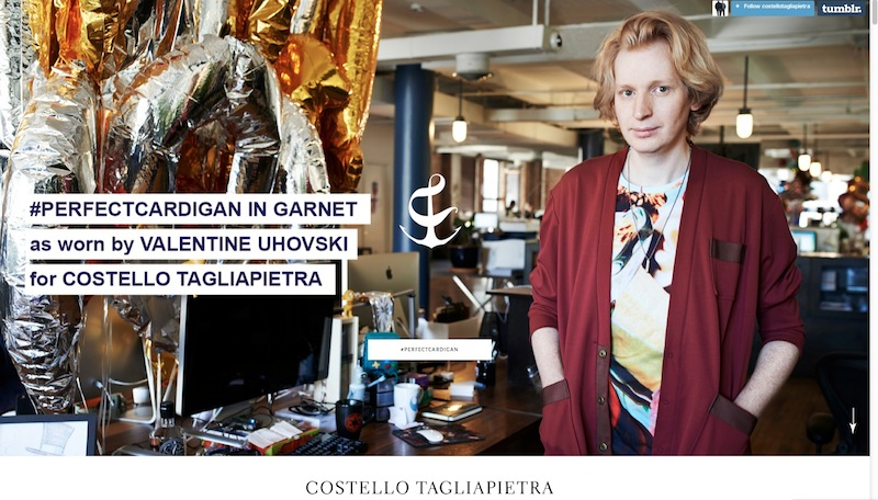 perfect cardigan featuring valentine uhovski FashionDailyMag