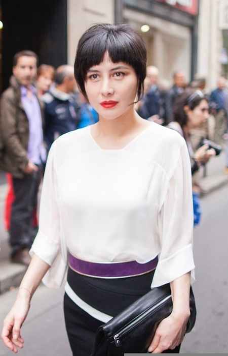 Josie Ho at Paris Haute Couture fall 2014 FashionDailyMag