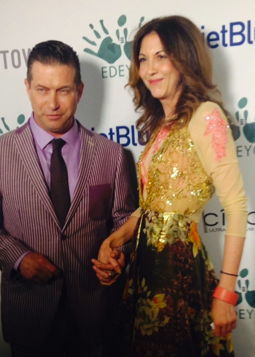 stephen baldwin brigitte segura Edeyo gives hope ball FashionDailyMag sel 2