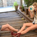 GIGI BURRIS ss15 featuring Ashley Smith + Chelsea Leyland