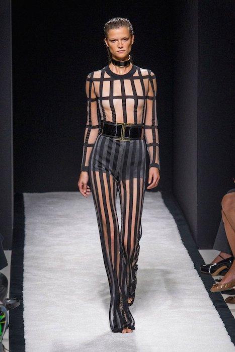 kasia struss BALMAIN SPRING 2015 FashionDailyMag sel 26