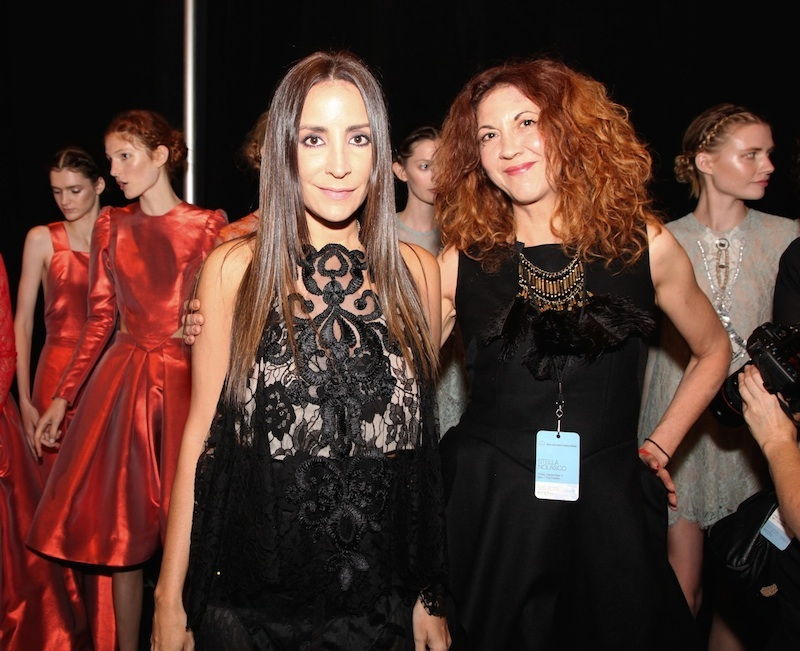 Brigitte Segura & Stella Nolasco beauty 2 At Stella Nolasco SS15 Fashiondailymag