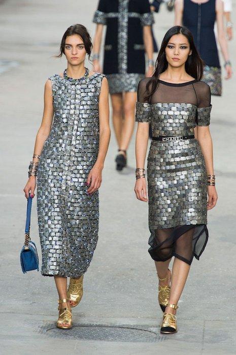 Chanel SS15 PFW Fashion Daily Mag sel 20 copy