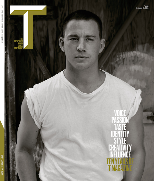 channing tatum t magazine feature FashionDailyMag