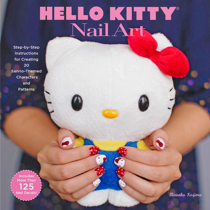 Hello Kitty Nail Art Fashion Daily Mag sel 1