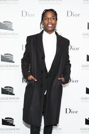 ASAP Rocky dior homme guggenheim gala fashiondailymag
