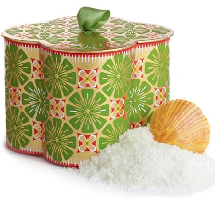 Agraria Lime & Orange Blossoms Bath Salts fashiondailymag GiftGuide2014 sel6