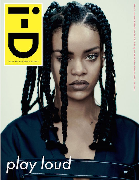 RIHANNA ID MAG music issue FashionDailyMag