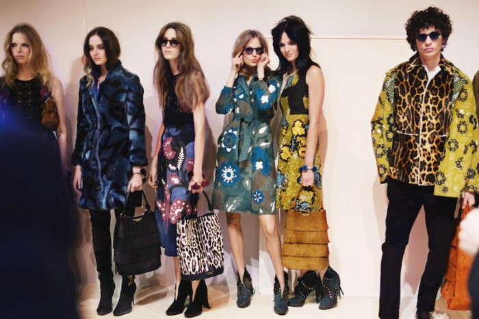 Backstage at the Burberry Womenswear Autumn_Winter 2015 Sho_008