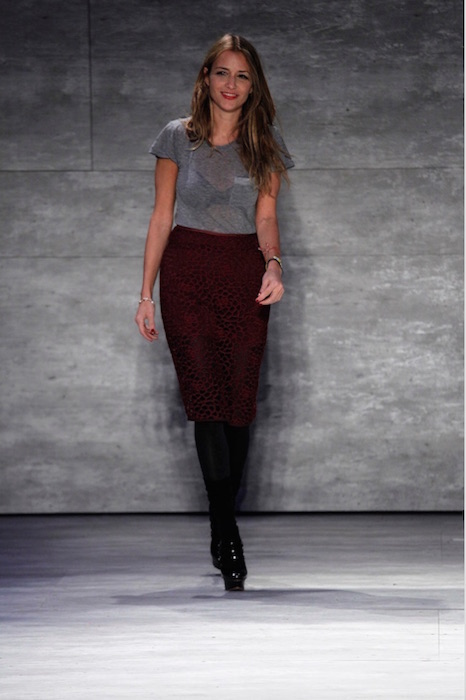 designer CHARLOTTE RONSON FALL 2015 fashiondailymag