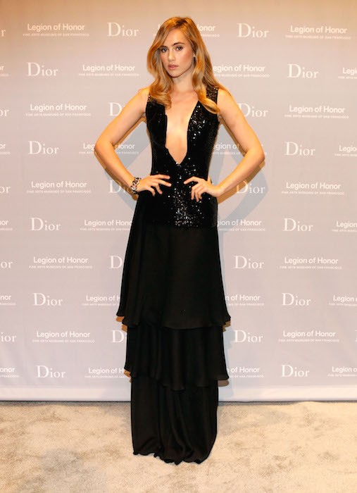 suki waterhouse Fine Arts Museums Of San Francisco 2015 Mid-Winter Gala Presented By Dior FashionDailyMag