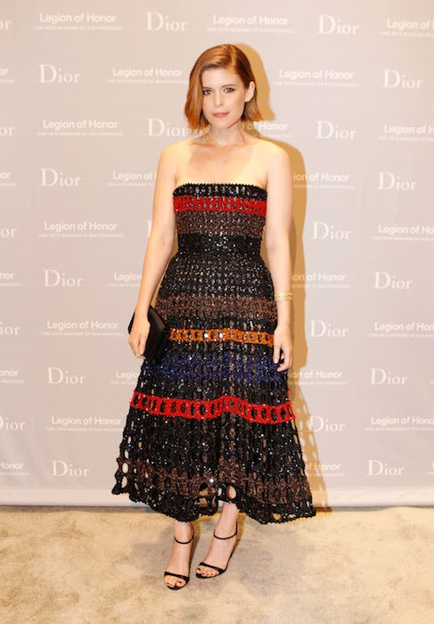 kate mara Fine Arts Museums Of San Francisco 2015 Mid-Winter Gala Presented By Dior FashionDailyMag