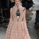 ALEXANDER McQUEEN ruffled fall 2015 highlights