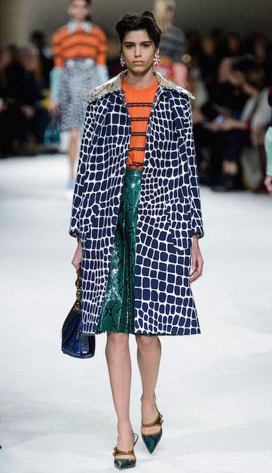 MIU MIU FALL 2015 fashiondailymag sel mica arganaz