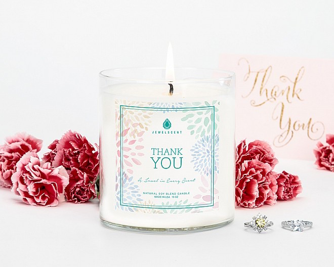 JEWELSCENT candles FashionDailyMag thank you
