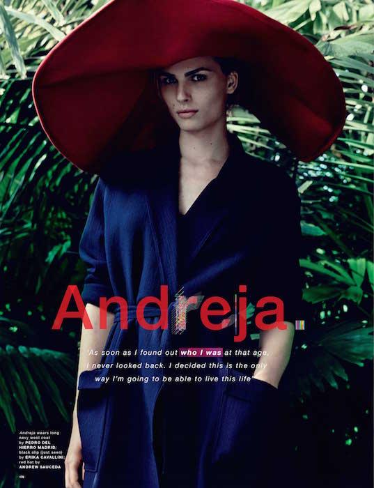 ANDREJA PEJIC by solve sundsbo Love magazine FashionDailyMag