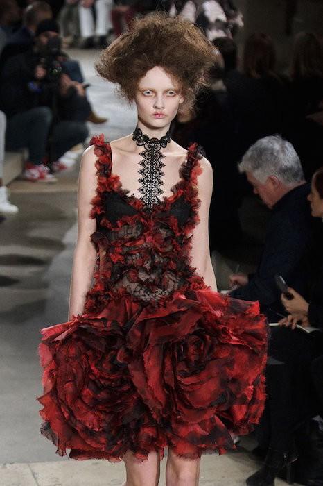 Alexander Mcqueen Floral FashionDailyMag4