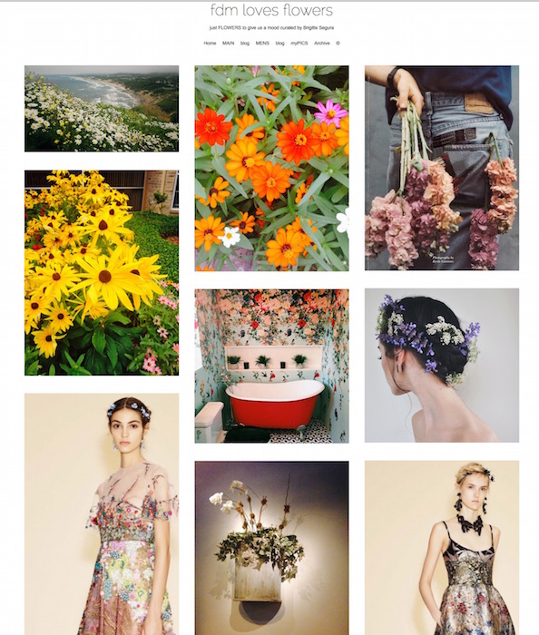 FDM LOVES FLOWERS blog FashionDailyMag