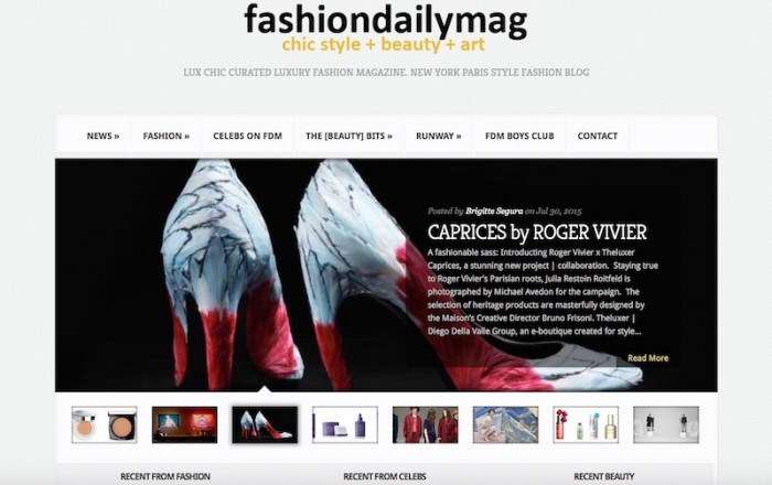 FashionDailyMag subscribe