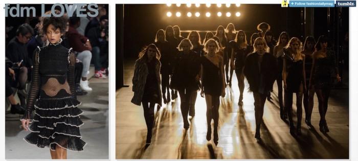 fdmloves FashionDailyMag tumblr runway aya jones
