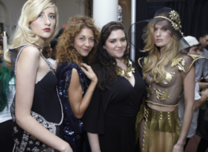 brigitte segura with laurel dewitt at NYFW ss16 FashionDailyMag