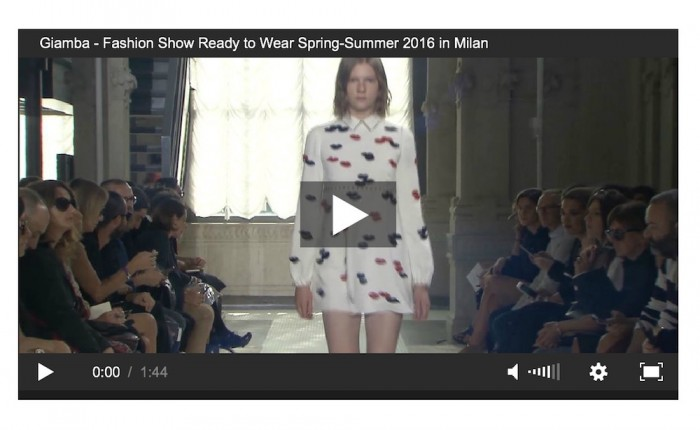 giambia giambattista valli ss16 video