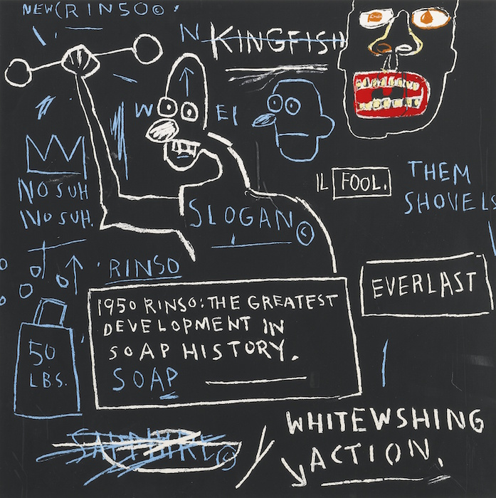 lot 194 Basquiat