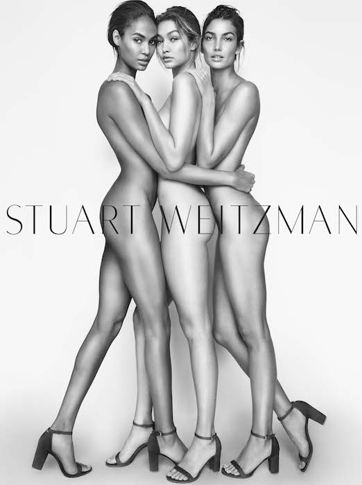 GIGI HADID JOAN SMALLS stuart weitzman by testino FashionDailyMag