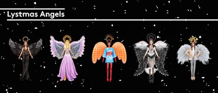 angels illustrated lyst x sunny gu FashionDailyMag