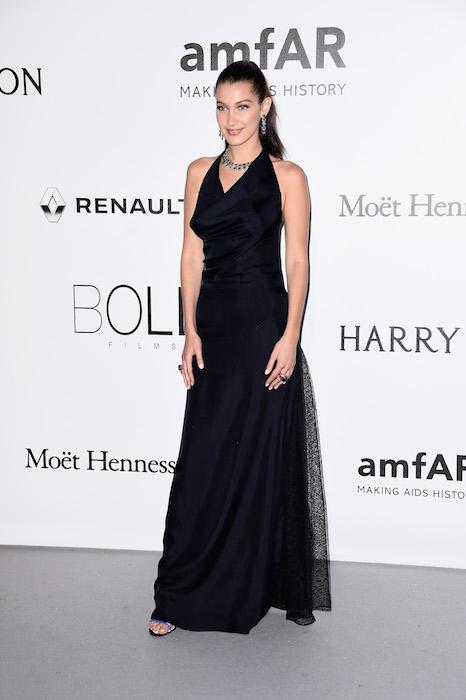 bella hadid julia restoin roitfeld amfar 2016 dior FashionDailyMag
