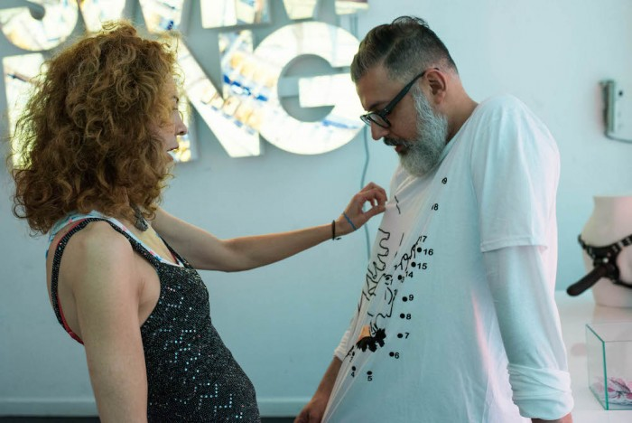 brigitte segura + ashish TAINT by ASHISH vfiles FashionDailyMag 3