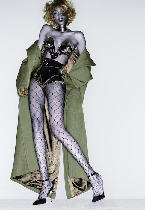 jourdan dunn envy thierry mugler couture edward enninful FashionDailyMag