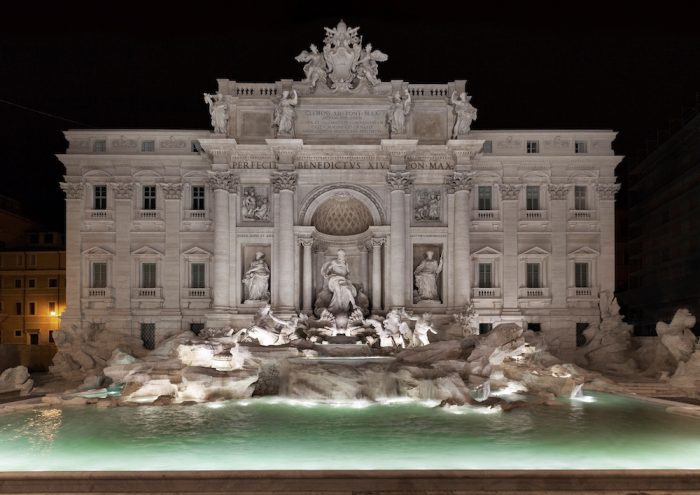 Fontana di Trevi_night copy