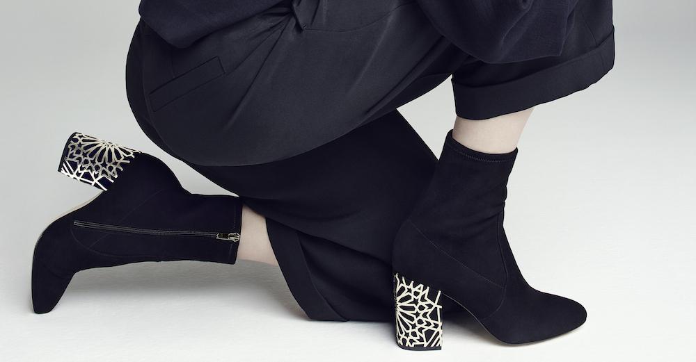 via spiga gold heel boots fashiondailymag