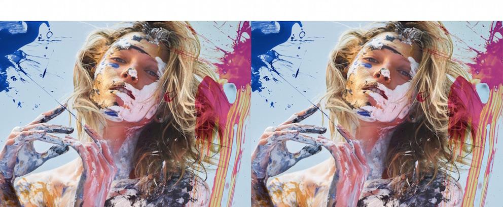 Hana Jirickova by Hunter & Gatti for Vogue Ukraine's beauty series