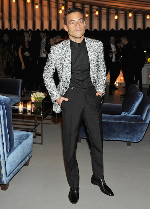 RAMI MALEK GQ and Dior Homme Host a Private Dinner in Celebration of the 2016 GQ Men of The Year party