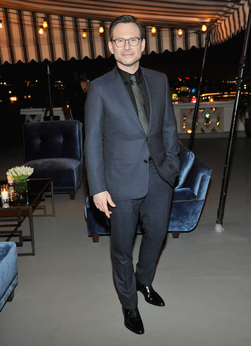 CHRISTIAN SLATER GQ and Dior Homme Host a Private Dinner in Celebration of the 2016 GQ Men of The Year party