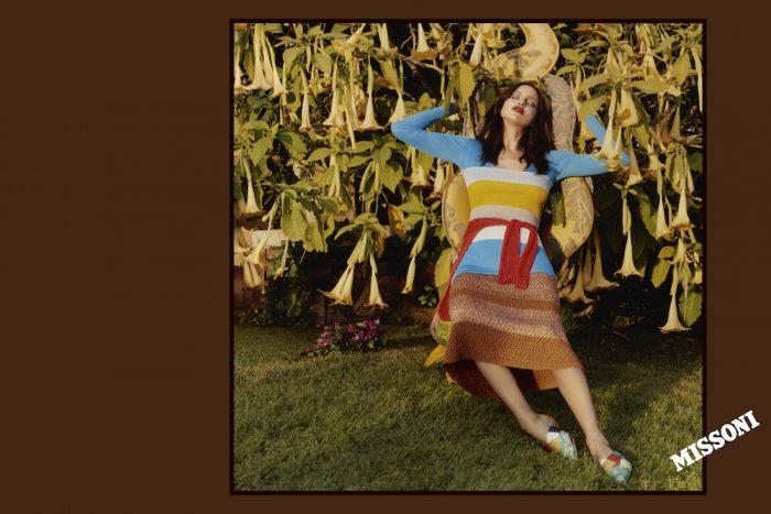 Irina Shayk MISSONI CAMPAIGN SS17 HARLEY WEIR fashiondailymag 9
