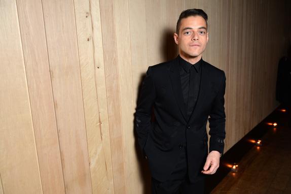Rami Malek dior homme fw17 fashiondailymag