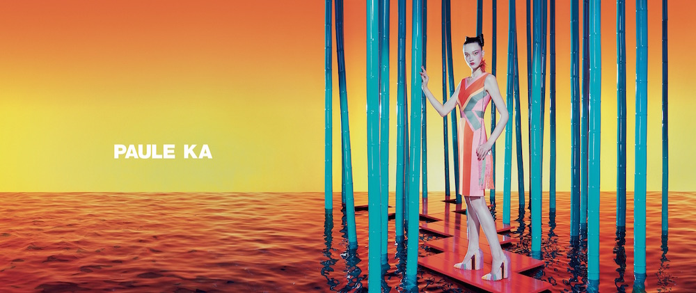 YUMI LAMBERT IN PAULA KE by miles aldridge FashionDailyMag