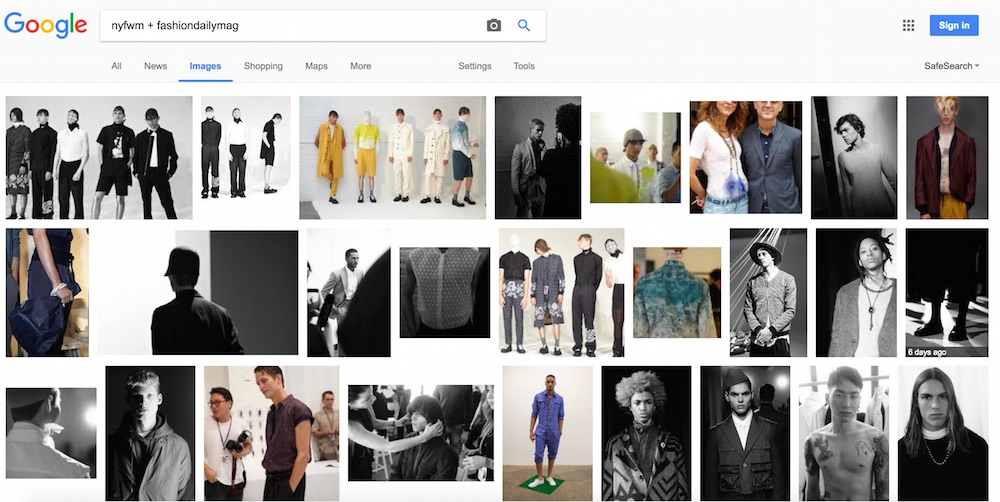 NYFW + fashiondailymag google search 2017-01-14 at 11.55.38 AM