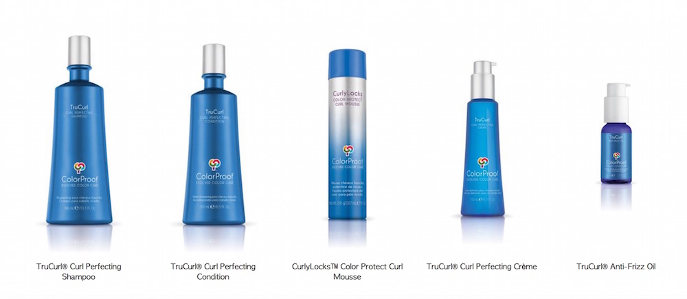 TRUCURL COLORPROOF curly hair maintenance FashionDailyMag